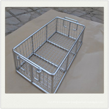 Stainless steel Wire Mesh medical sterilization Basket