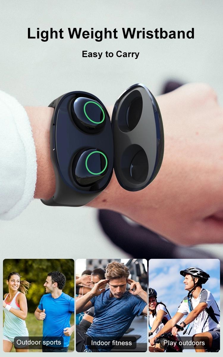 Hm50 Wristband Earphones
