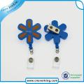 New Design Eco-Friendly Lovely Shape Plastic Badge Reels