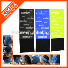 Multifunctional customized tube fleece magic headband