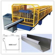 Calidad Totalmente automática Ogee Roof Gutter Roll que forma la máquina