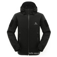 Waterproof Hooded Softhell Jacket for Men (J8009)