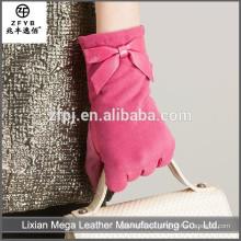 China Venta al por mayor de guantes de cuero personalizado importador de Europa