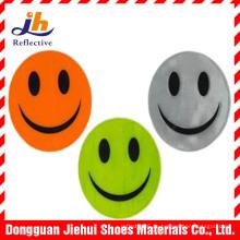 Billigste Lächeln reflektierende Schlüsselanhänger reflektierende Tasche Aufhänger