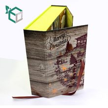 Cas adapté aux besoins du client en gros dans la reliure pour la boîte de bonbons de Noël