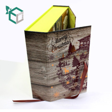Wholesales Customized Case in Binding For Christmas Candy Box