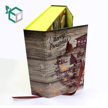 Venta al por mayor caso personalizado en enlace para caja de dulces de Navidad