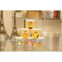 KC-00999 gobelets à espresso en céramique, joli, joli design