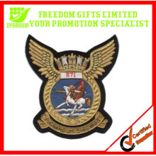 Emblema feito sob encomenda barato relativo à promoção do bordado
