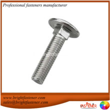 Factory selling for Mushroom Head Square Neck Bolt Stainless steel Square Neck Carriage Bolts DIN603 export to French Southern Territories Importers