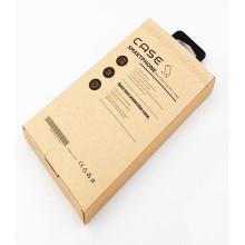 Customized Design Packaging Kraft Phone Case Box