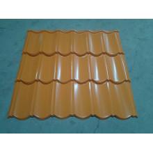 Folha de telhado ondulado galvanizado Prepainted da folha