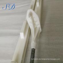 Preiswerter Produktelektrozaunplastikschritt-in Poly Pfosten mit Stahlstangen für Viehbauernhofzaun