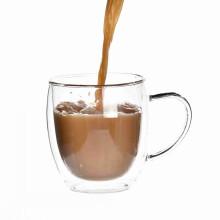 Drinking Glass Cup Mug With Handle