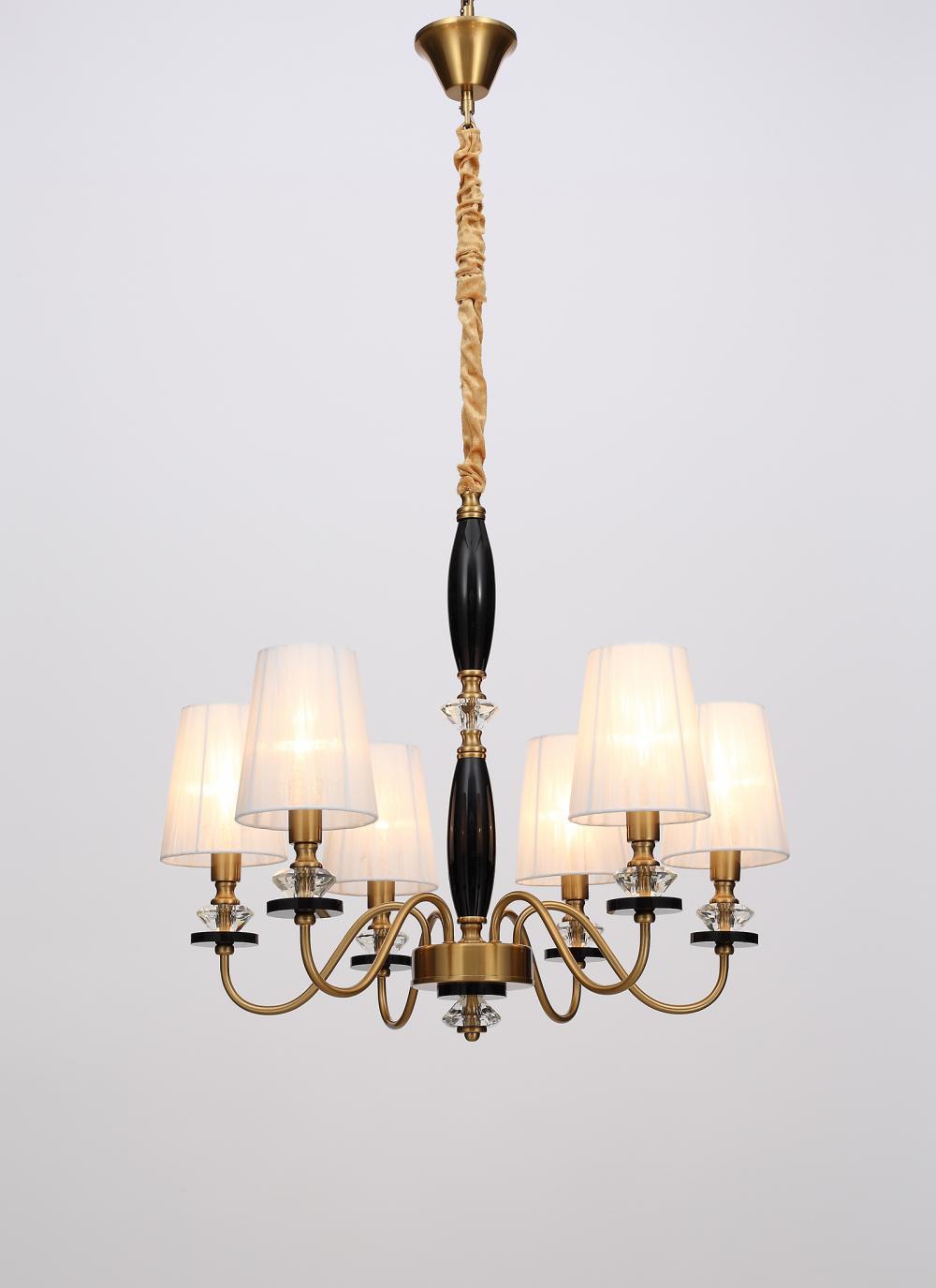 chandelier and pendant set