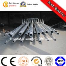 Galvanisierter Stahl-Straßenlaterne Pole vom Kunden benötigt