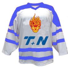 Jersey de hockey sobre hielo personalizada