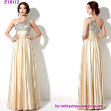 Vestidos de dama de honor de bodas al por mayor baratos Vestido de fiesta largo del vestido de noche