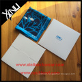 White Paper Cardboard Envelope with Print Custom Logo Handkerchief Gift Box