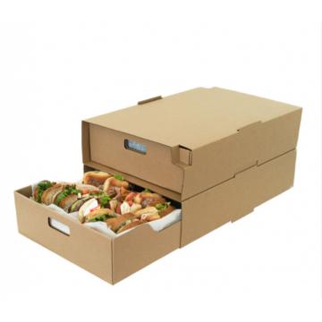 Einzelhandelsgeschäft Regal bereit Tray Verpackung Papier Display Box Falten Wellpappe Karton Up Display Box