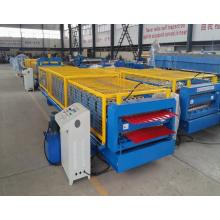 Classic Double Deck Color Steel Sheet Cold Corrugated Roll Forming Machine