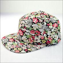 Flor 5 gorras del panel gorras