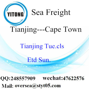 Tianjing Port LCL Consolidation To Cape Town