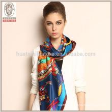 Bufandas de seda Venta al por mayor Mantón Pashmina para el vestido de noche