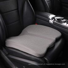 Almofada de assento de aumento de espuma de memória para carro, cóccix e almofada de alívio de dor lombar, para cadeira de escritório, cadeira de rodas e muito mais.