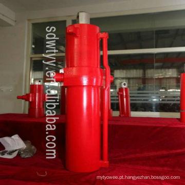 Cilindros hidráulicos de grande calibre