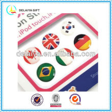 country flag epoxy dome sticker decorating phone