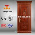Classic style luxury interior wooden veneer decorated doors
