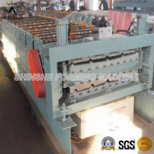 Two Different Profiles Roofing Metal Roll Forming Machine