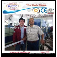 plastic PE water supply pipe machinery