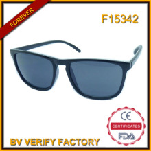 F15342 Marca espelho Designer óculos de lente com logotipo personalizado