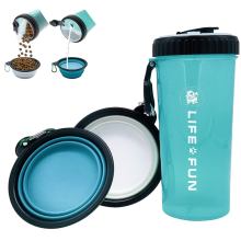 Dog Water Bottle&Food Container