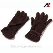 Draußen Motorrad fahren und Radfahren Polar Fleece Handschuhe mit Thinsulate Futter