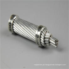 Comunicação cabo ACSR Condutor de alumínio de alumínio revestido de aço reforçado para transmissão