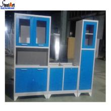 Дешевые бесплатная стоящие металлические кухонные шкафы кладовая