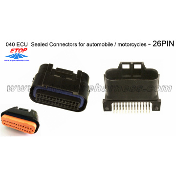 Lokale 26PIN ECU-afgedichte connector