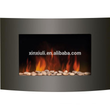 wall mounted style fireplace