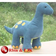 Huevo de dinosaurio de incubación juguete de peluche de color azul