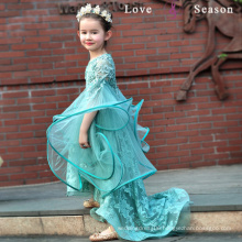 XXLF219 lovely ball gown flower girl dresses patterns free high low girl dress