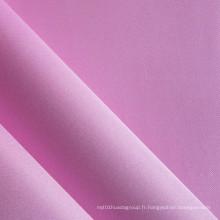 Tissu en polyester satiné en PVC (XQ-116)
