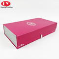 customized packaging box for glass bottle and clothes