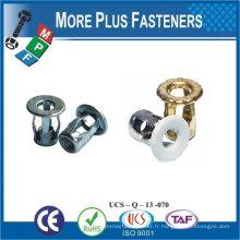Fabriqué en Taiwan Screw Blind Jack Nut Long M8 Copper Steel Stainless inox
