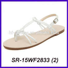 Sandelholze Frauen neue Modell Frauen Sandalen niedrigen Preis Damen Sandalen