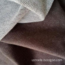 Spandex polyester cotton knitted denim fabric