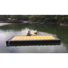 Pedestrian Floating Pontoon Trestle Bridge Military Floating Bridge