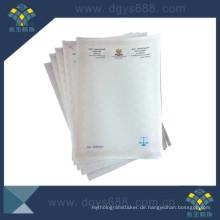 Wasserzeichen Papier Prägedruck Zertifikat